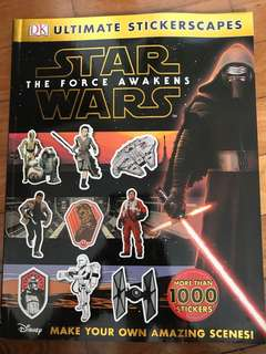 Star Wars Sticker Book