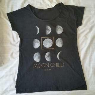 Ghanda Moon T-shirt 🌙