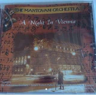 The Mantovani Orchestra - A Night In Vienna ( CD )