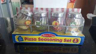 Melissa & Doug Pizza Seasoning Set