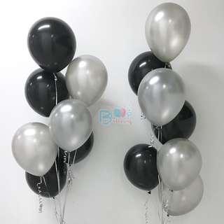 Plain 12'' Latex Helium Balloons