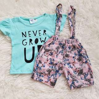 Cute Baby Casual + Cute Overall