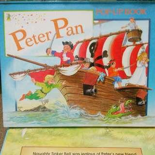 Buku cerita bhs inggris : PeterPan Pop-up storybook