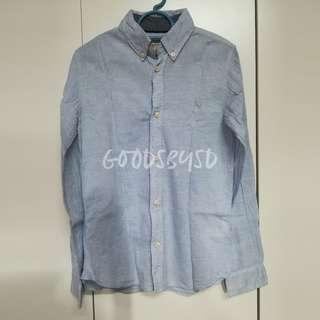 H&M LOGG Shirt (Light Blue)