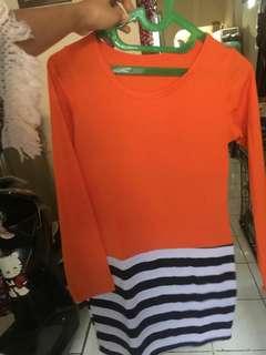 Atasan orange