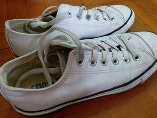 converse 女白鞋