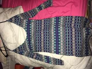 Pattern dress medium fit