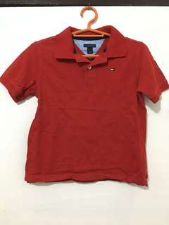 Red Collared Polo