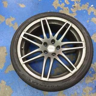 """Wts: Original Audi A4 19"""" Rims"""