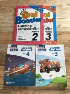 English grammar workbook Pri 3 Pri 4  assessment
