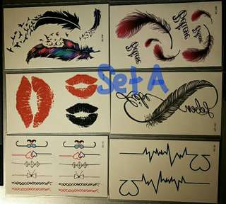 Tattoos sticker