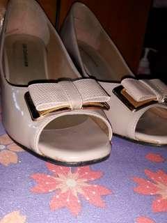 Gibi open toe shoes (Mocha)