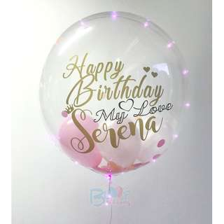 24'' Personalised Helium Balloon To Express Your Love