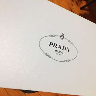 Brand new Prada grey boots RRP$1832.00