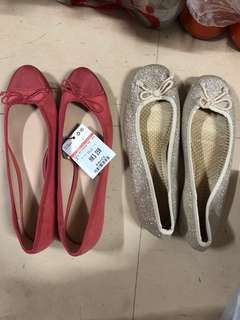 M&S flat shoes $70 for1 brand new ONLY have the red one