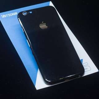 iPhone貼膜-光面黑