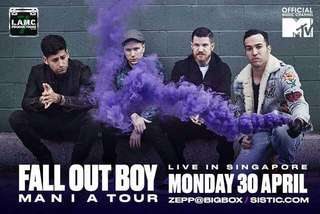 Fall Out Boy Mania Concert 30th April