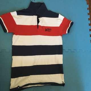 LEE Pipes Stripes Polo