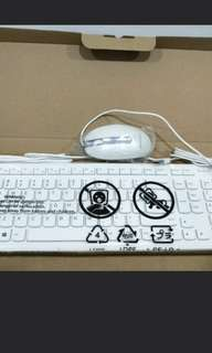 Brand new in box Lenovo keyboard and mouse