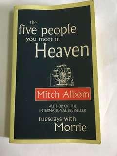 Mitch Albom the five people meet in heaven