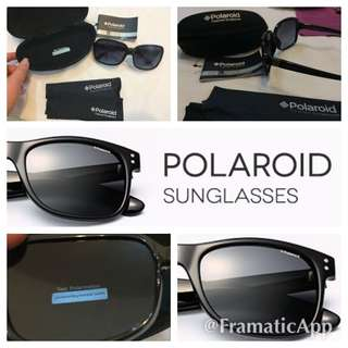 全新bling bling Polaroid 太陽眼鏡