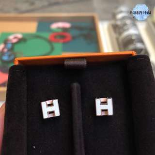 Hermes  H cube耳環