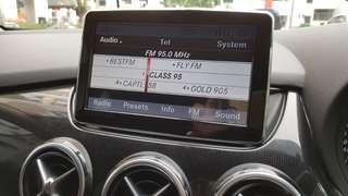 Mercedes 8 inch monitor (Navitech)