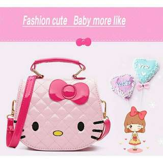 Hello kitty glossy bags