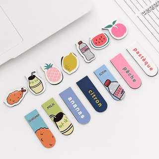 Cute Magnetic Bookmarks [Free Postage]