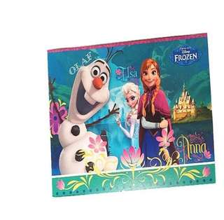 ❄️Frozen party supplies - party invitations