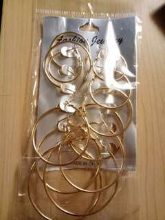 1 set anting bulat