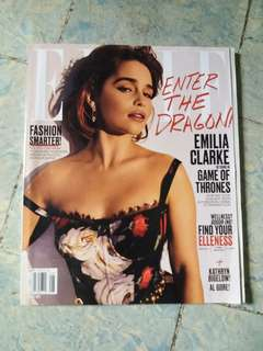Emilia Clarke | Elle USA August 2017