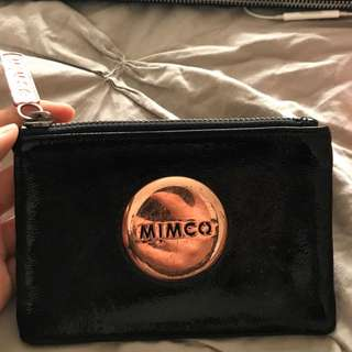 Mimco mini pouch used condition leather coin