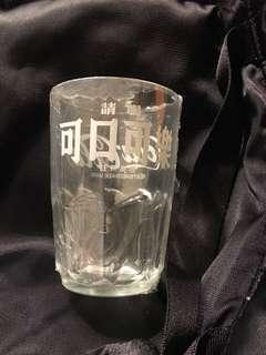 60s可口可樂Coca Cola玻璃杯(A)