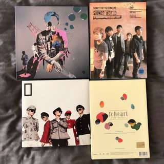SHINee official albums / DVD