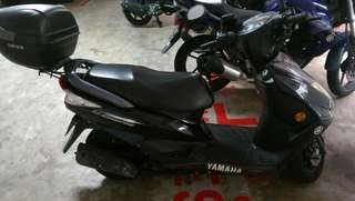 Yamaha Cygnus Z 125cc great cond very low mileage
