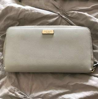 Kate spade genuine saffiano leather wallet