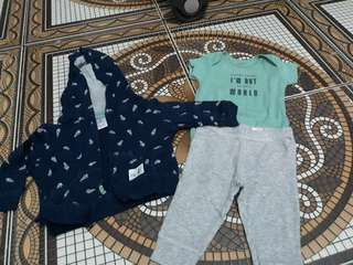1 set jumper carter 0-6 bln