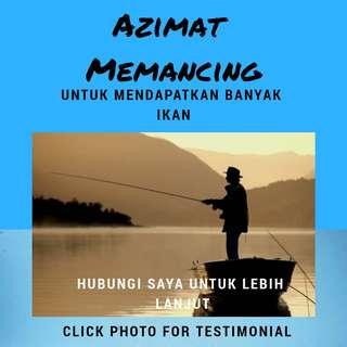 Azimat memancing / pancing / fishing / pelaris pancing