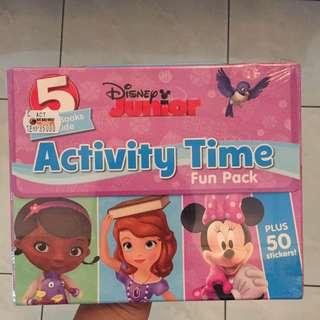 Disney Junior Activity Time