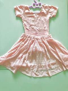 Girl's Ballet Costumes Dress with one pair shoes