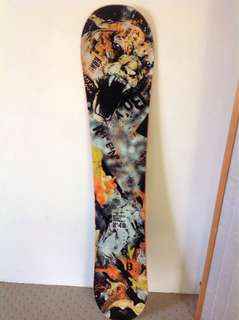 Endeavour snowboard