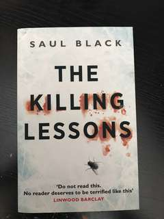 The Killing Lessons Saul Black