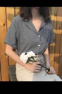 Checkered Button Shirt