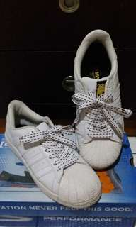 Adidas superstar Sneakers white tali variasi