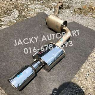 "Muffler Exhaust APEXi Super Megaphone 2.3"" Japan"