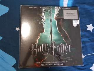 HARRY POTTER AND THE DEATHLY HALLOWS OST VINYL