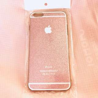 Pink glitter iPhone 6/S PLUS phone case
