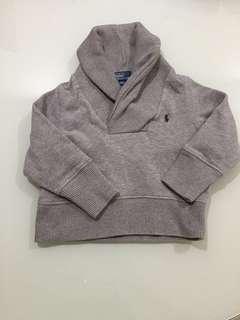 Authentic Polo Ralph Lauren Sweater / pull over with hoodie