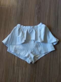 White Keepsake Skort XS/S